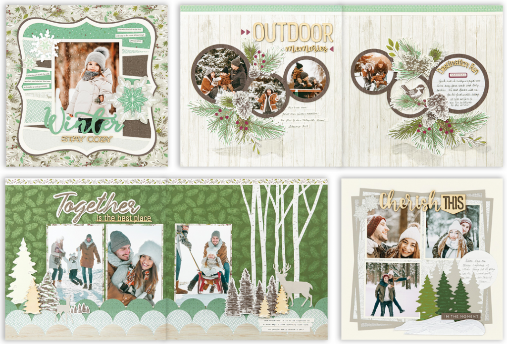 CTMH Spruced Up Scrapbooking Kit 2020