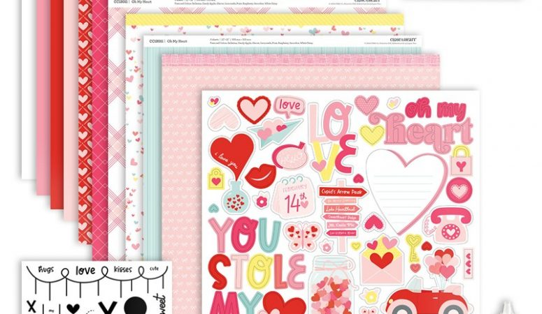 40 'Oh My Heart' Valentine Cards? Bring it!