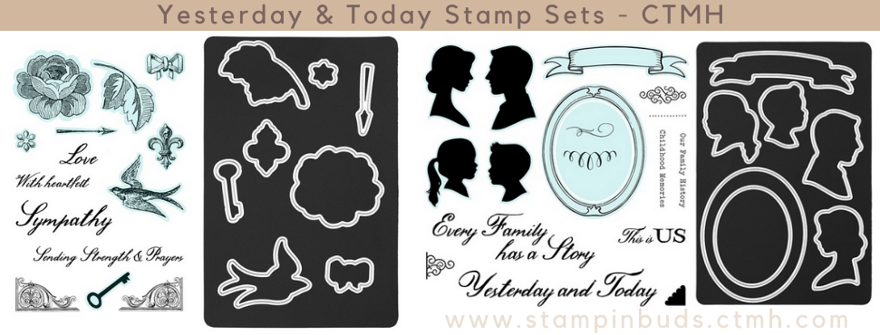CTMH - Yesterday & Today Stamp Sets