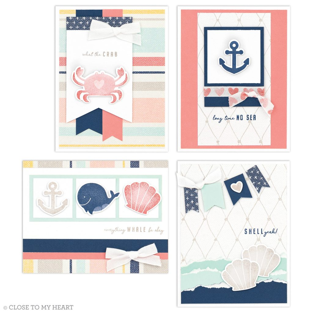 CTMH - Seas the Day Cards