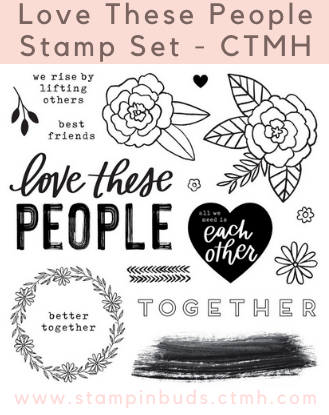 CC3205 - These Are My People Stamp Set