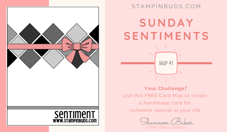 Sunday Sentiments | Card Maps – #1