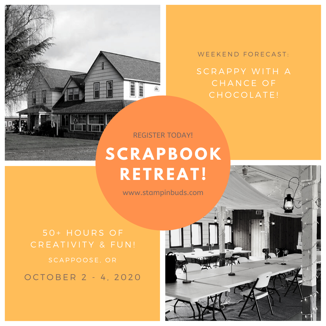 Oregon Scrapbooking Retreat in Scappoose