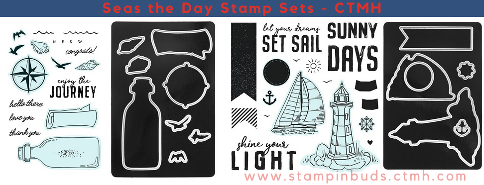 CTMH Seas the Day Stamp Sets