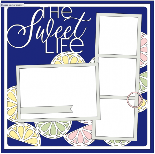 Everyday Moments Cricut Collection - The Sweet Life