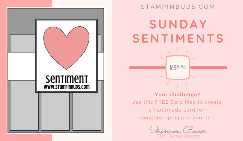 Sunday Sentiments - Card Maps 4