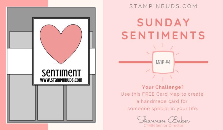 Sunday Sentiments - Card Maps 4