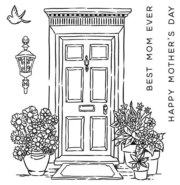 CC42013 - Mother's Day Door