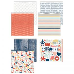 X7255S Seas the Day Paper Collection