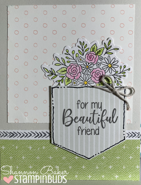 For My Beautiful Friend Card