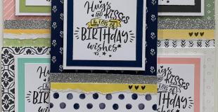 Birthday Cards Hugs & Kisses