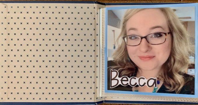 Becca's Birthday Book