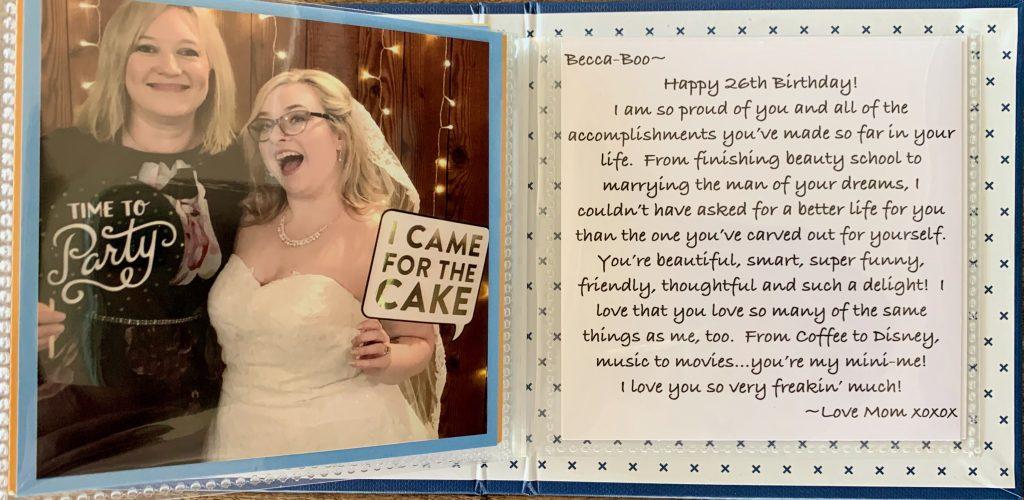 Becca's Birthday Book - 9