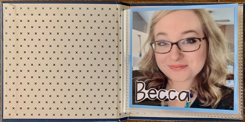 Becca's Birthday Book