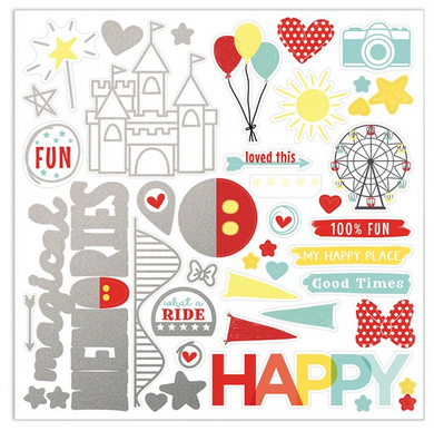CTMH Happiest Place Stickers