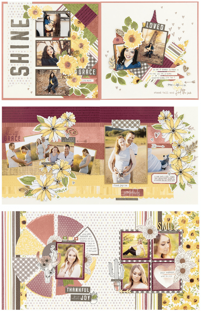 Bloom with Grace - CTMH Scrapbooking Kit