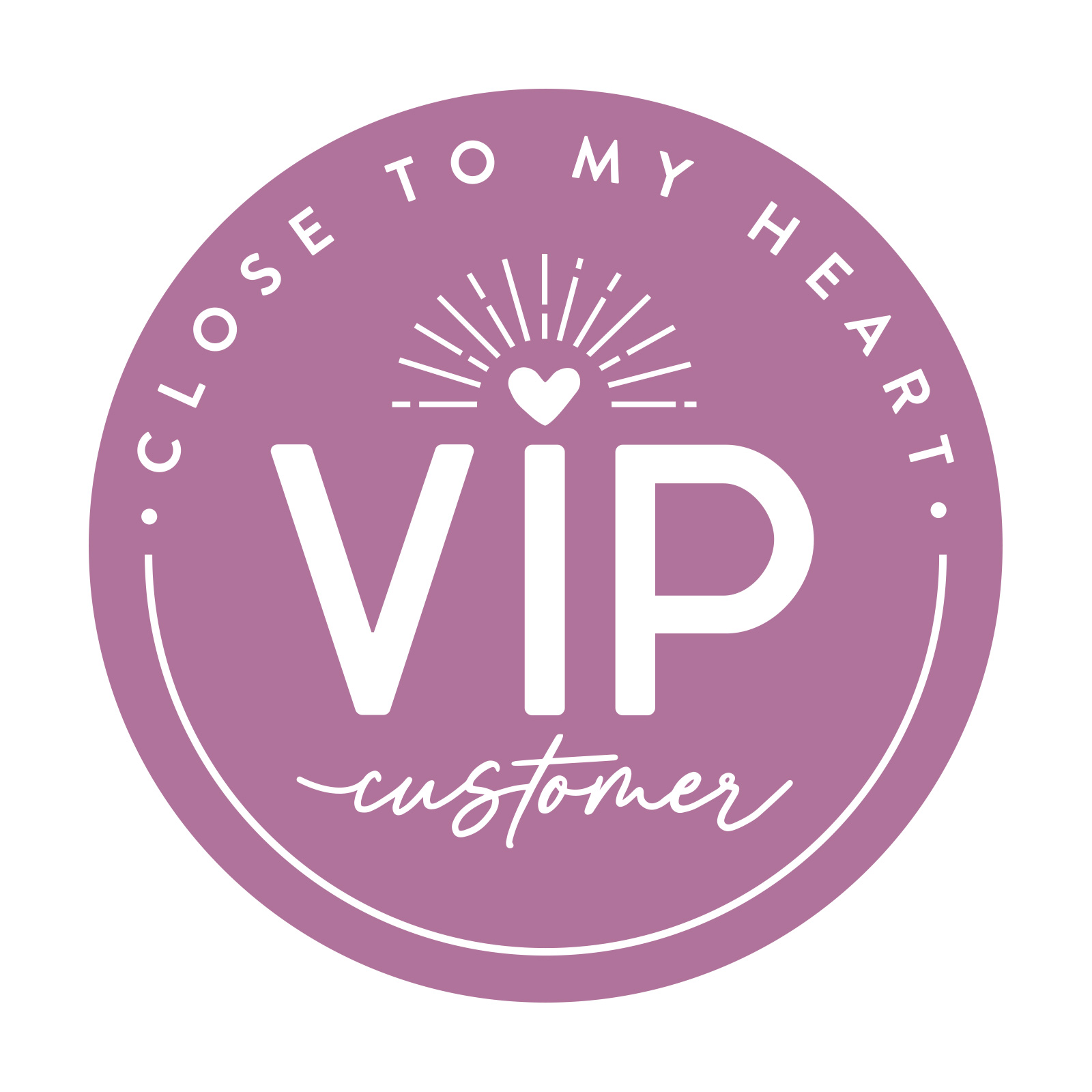 Close To My Heart VIP Program