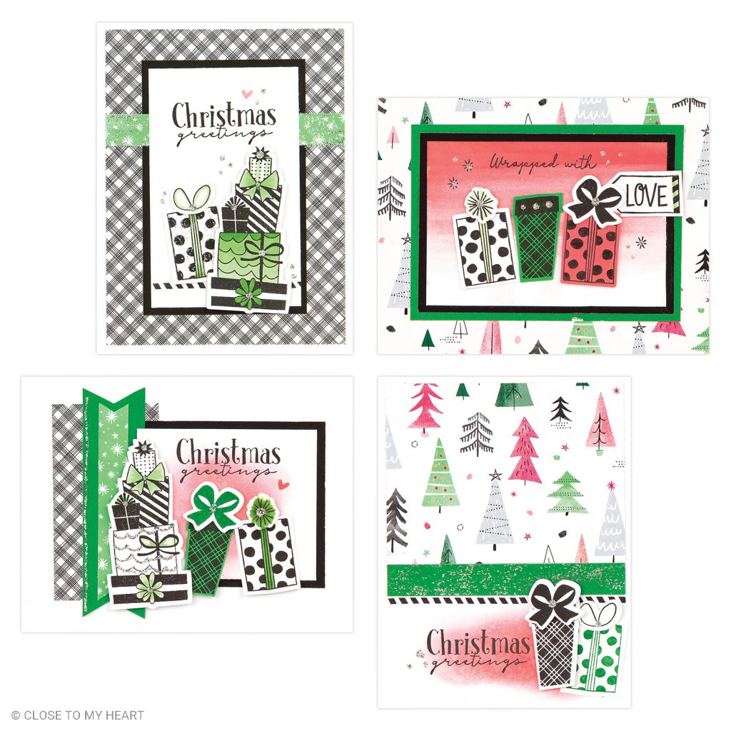Jingle Joy Cardmaking