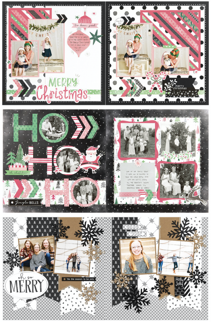 Jingle Joy Scrapbooking