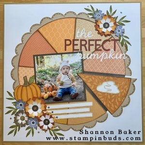 The Perfect Pumpkin Scrapbooking Page Kit