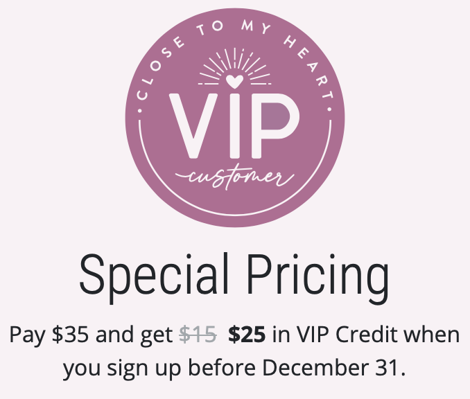 CTMH VIP Special Pricing