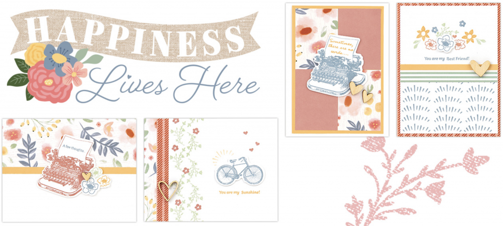 Happiness Lives Here Card Kit