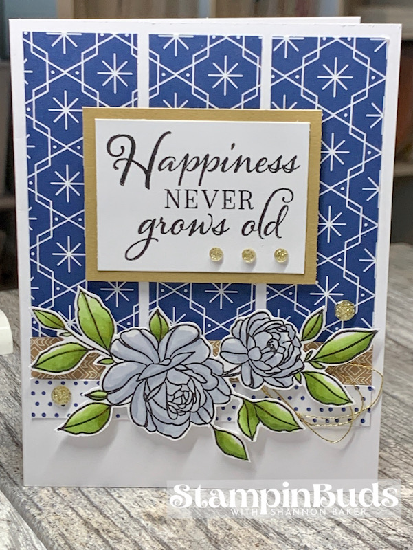 S2012 - Happiness Never Grows Old Card