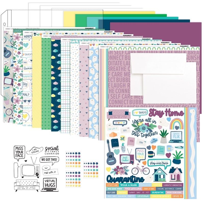 """In This Together 12"""" x 12"""" Workshop Kit"""