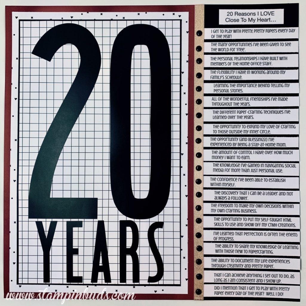 Story 52 - 20 Years CTMH
