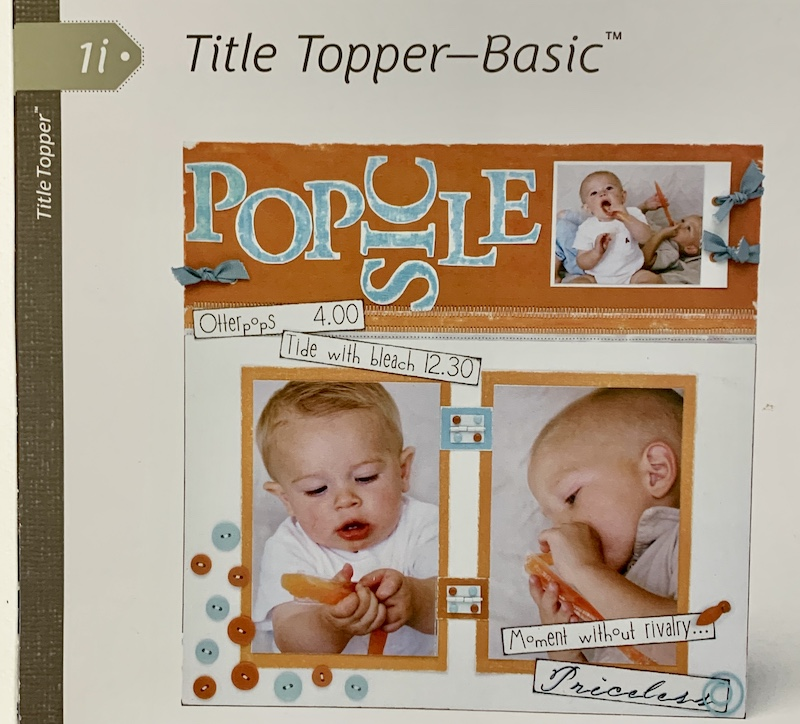 Reflections - Title Topper Basic