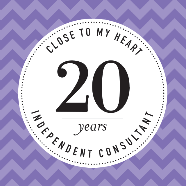 20 Years with CTMH Badge