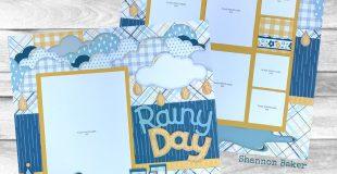 CTMH StampinBuds Rainy Day Paper Pastries Kit