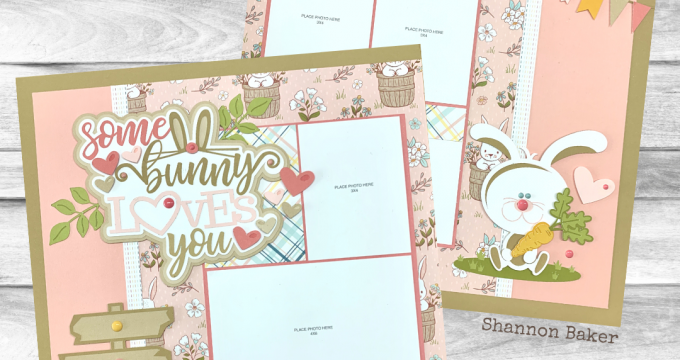 CTMH StampinBuds Some Bunny Loves You Paper Pastries Kit