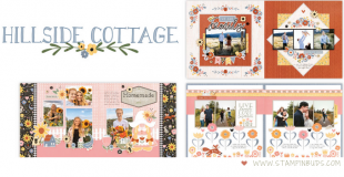CTMH Hillside Cottage Scrapbooking