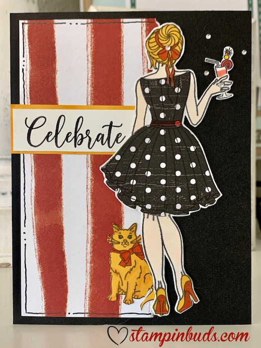 CC4212 - Party Girl Stamp Set
