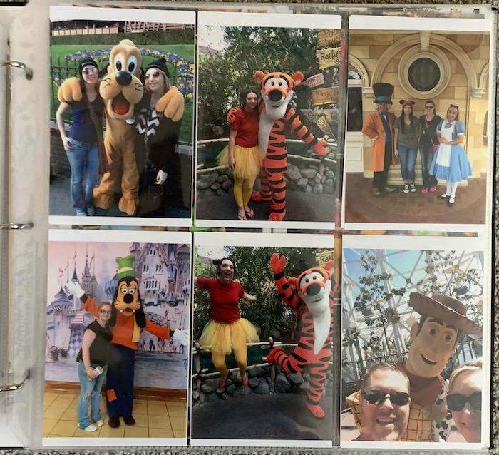 Disney Character Sightings - Photo Storage 2