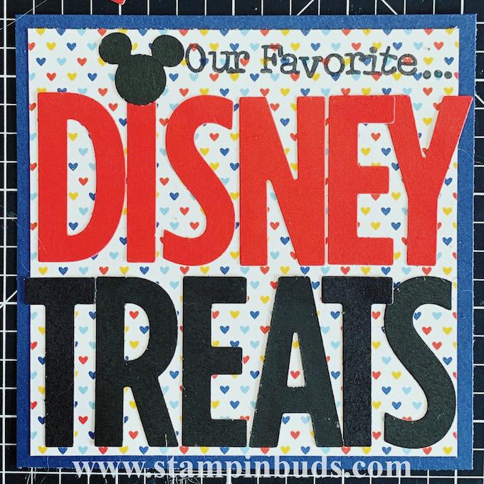 "4"" x 4"" Disney Treats Album"