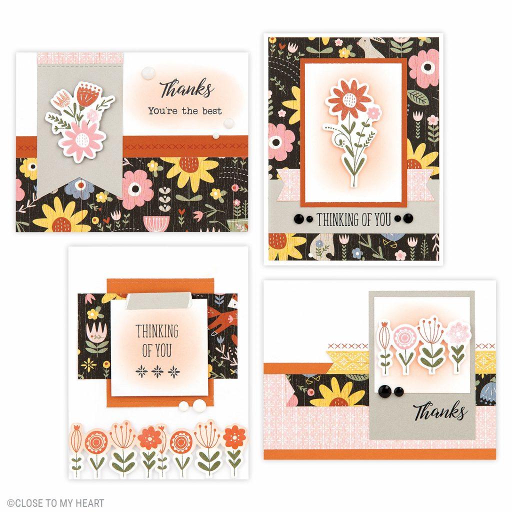 Hillside Cottage Cards