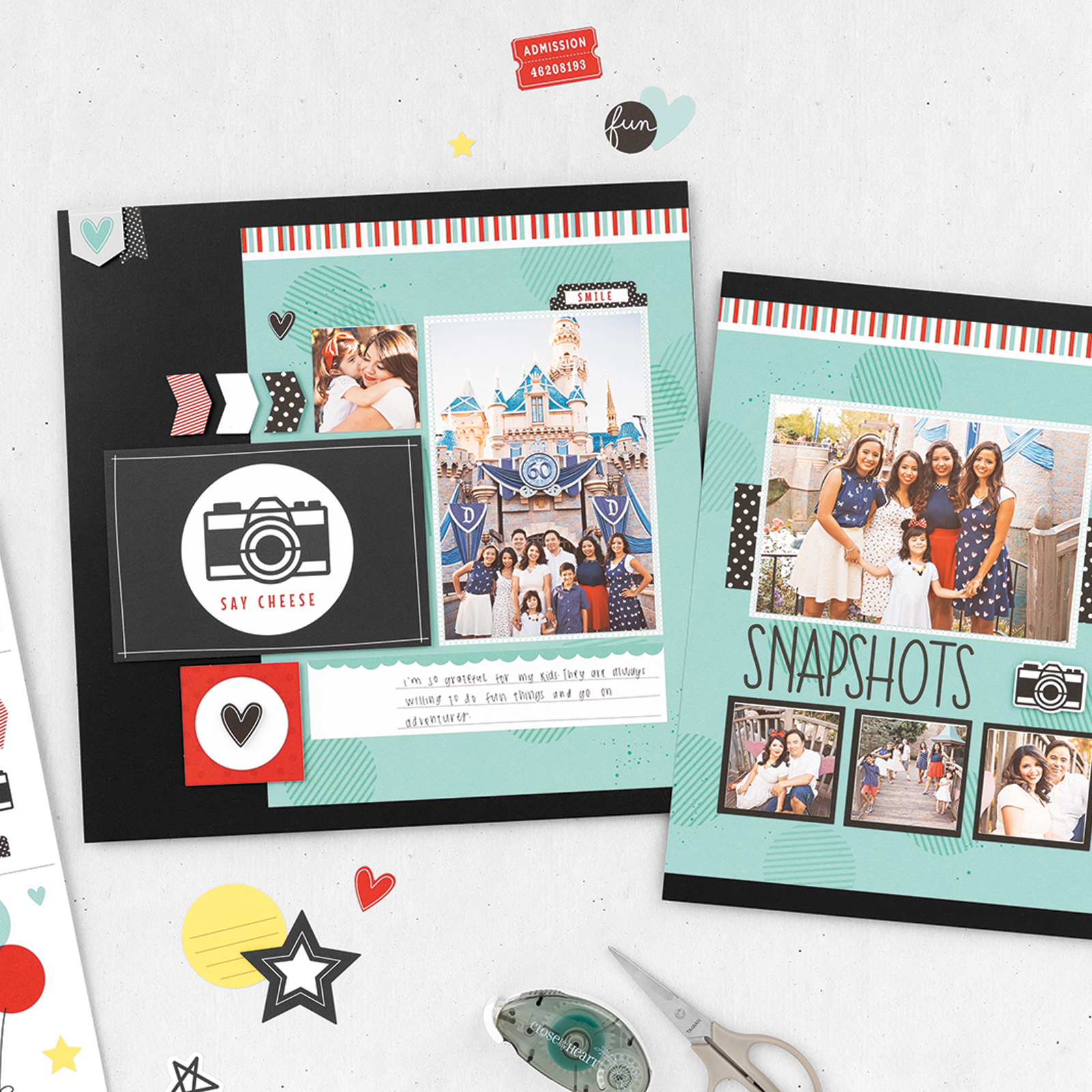 Return to the Happiest Place Scrapbooking Workshop