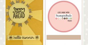 Sunny Days Ahead - Card Recipe