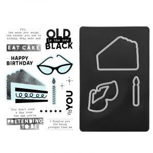 Z3629 Celebrate Today - Cardmaking Stamp Set