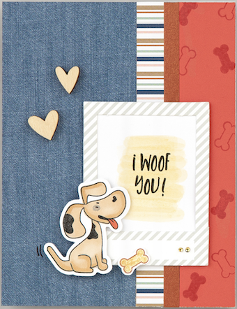 CTMH I Woof You - #B1753 or Z3975
