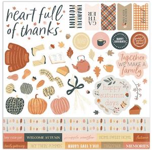 Pumpkin Spice Stickers