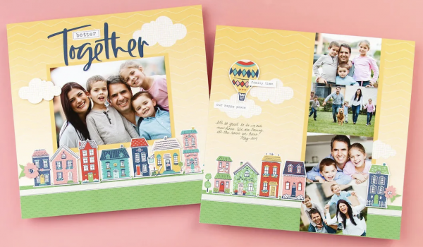 Blue Skies Better Together Layout