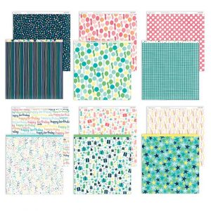 X8016B Party Time Paper Pack - CTMH
