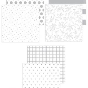 X8018 Silver Foil Paper Pack - CTMH