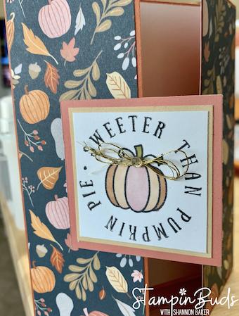Gatefold Card - Sweeter than Pumpkin Pie