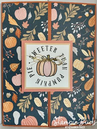 Sweeter Than Pumpkin Pie Gatefold Card
