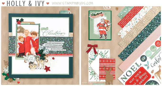 CTMH Holly & Ivy Collection