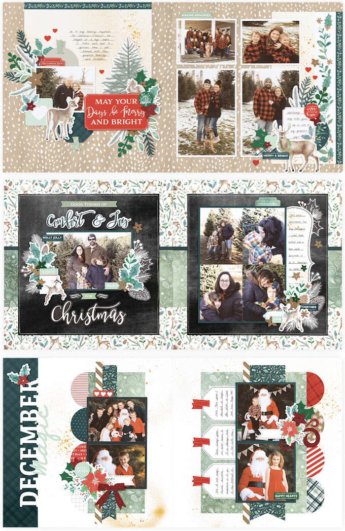 CTMH Holly & Ivy Scrapbooking